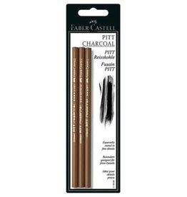 FABER-CASTELL Faber-Castell Pitt Compressed Charcoal Pencil Set