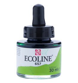 Royal Talens Ecoline Liq Wc 30Ml Pipette Jar Bronze Green