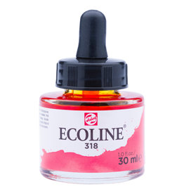 Royal Talens Ecoline Liq Wc 30Ml Pipette Jar Carmine