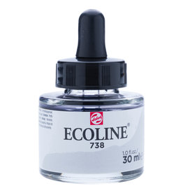 Royal Talens Ecoline Liq Wc 30Ml Pipette Jar Cold Grey Lt