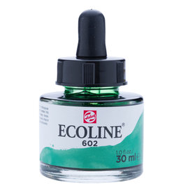 Royal Talens Ecoline Liq Wc 30Ml Pipette Jar Deep Green