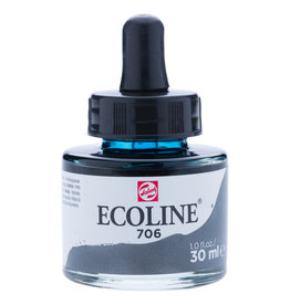 Royal Talens Ecoline Liq Wc 30Ml Pipette Jar Deep Grey