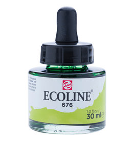 Royal Talens Ecoline Liq Wc 30Ml Pipette Jar Grass Green