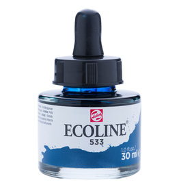 Royal Talens Ecoline Liq Wc 30Ml Pipette Jar Indigo