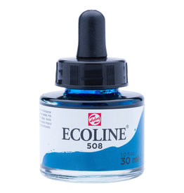 Royal Talens Ecoline Liq Wc 30Ml Pipette Jar Prussian Blue