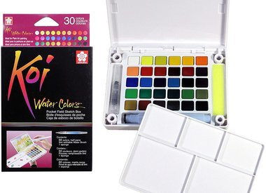 "Koi Watercolor ""Sketch Box"" Value Sets"