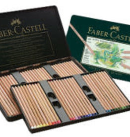 FABER-CASTELL Faber-Castel Pitt Pastel Pencils in A Metal Tin (60 Pack), Assorted
