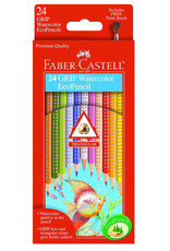 FABER-CASTELL Faber-Castell 12ct Grip Watercolor EcoPencils