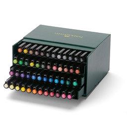 FABER-CASTELL Faber-Castel Pitt Artist Brush Pens (48 Pack), Multicolor