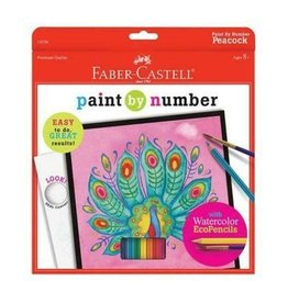 FABER-CASTELL Paint By Number Peacock