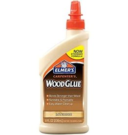 ELMERS Elmer's 8OZ ELMERS CARPENTERS WOOD GLUE