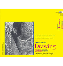 Strathmore Strathmore 300 Drawing Paper Pad 18x24 25 Sheets