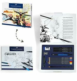 FABER-CASTELL Faber-Castell Comic Illustration Set