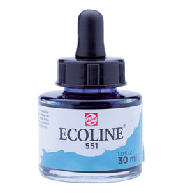 Royal Talens Ecoline Liq Wc 30Ml Pipette Jar Sky Blue Lt