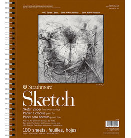 Strathmore Strathmore 400 Sketch Pad, 11x14 100 Sheets