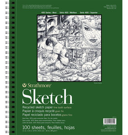 Strathmore Strathmore, 400 Series Sketch Paper Recycled, 1x14 100 Sheets