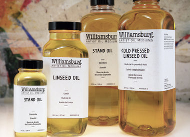 Linseed Oils & Mediums