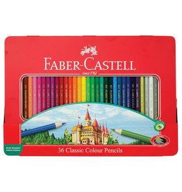 FABER-CASTELL Faber-Castell 36ct Classic Color Pencil Tin Set