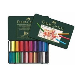 FABER-CASTELL Faber-Castell Polychromos Artists Pastels Tin Of 60