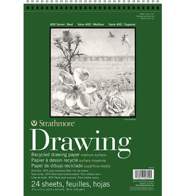 Strathmore Strathmore 400 Series Drawing Paper 9x12 Recycled