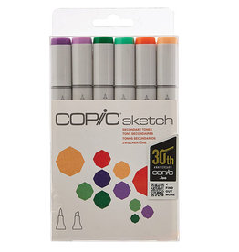 COPIC SKETCH MARKER SEC TONES 6PC