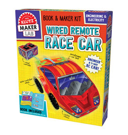 KLUTZ Maker Lab: Wired Remote Race Car