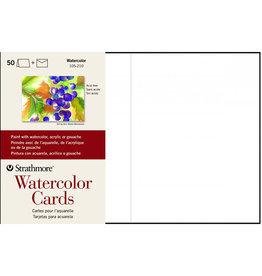 Strathmore Strathmore Watercolor Cards, CP 50 Envelopes, Cards & Envelopes