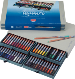 Royal Talens Bruynzeel Design Aquarelle Box Of 48