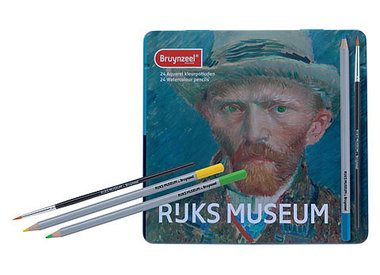 Bryunzeel Rijksmuseum Watercolor Pencil Sets