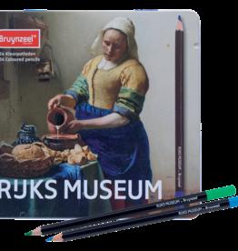 Royal Talens Bruynzeel Rijks Dutch Master 24 Coloured Pencils Milkmaid