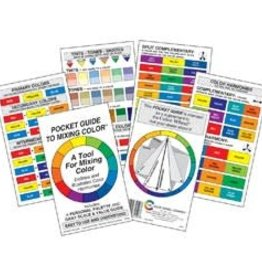 COLOR WHEEL COMPANY Pocket Guide To Mixing Color 3X5