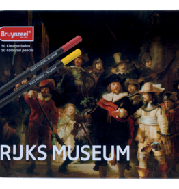 Royal Talens Bruynzeel Rijks Dutch Master 50 Coloured Pencils Nightwatch
