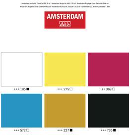 Royal Talens Amsterdam Acrylic Ink Combi 30Ml Set