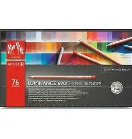 Caran d'Ache Luminance 6901  Box 76 + 2 Full Blender