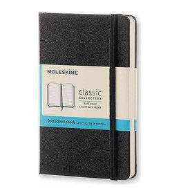 Moleskine Classic Notebook Pocket Dot Black Hc