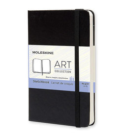 Moleskine Art Plus Sketchbook Pocket Plain Black Hc