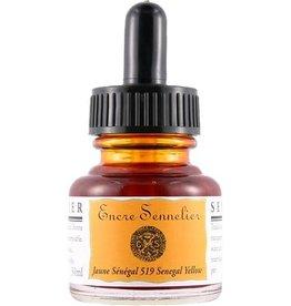 Sennelier Sennelier Senegal Yellow Ink, 30 ml.