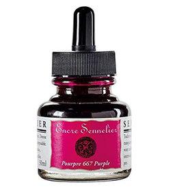 Sennelier Sennelier Purple Ink, 30 ml.