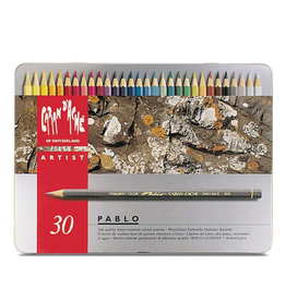 Caran d'Ache Caran D'Ache Pablo Colored Pencil Set Of 30