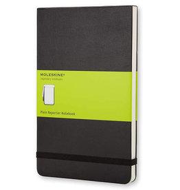 Moleskine Reporter Notebook Pocket Plain Black Hc
