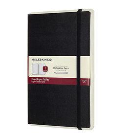 Moleskine Paper Tablet P+ Ruled Black Hc