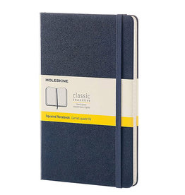 Moleskine Classic Notebook Large Square Saph Blue Hc