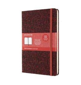 Moleskine Blend Coll'N Notebook Lrg Ruled Red Hc