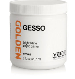 Golden Golden Gesso 8 oz jar