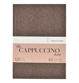 Hahnemuhle The Cappuccino Book 120gsm 5.83x8.27, 40 sheets