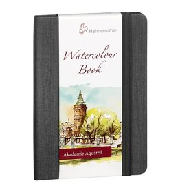 Hahnemuhle Watercolour Book 200gsm Hardbound 5.77x4.09 Portrait, 30 sheets