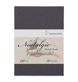 Hahnemuhle Nostalgie Hard Cover Sketch 11.58x8.19 Portrait, 80 pages