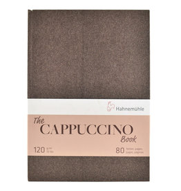 Hahnemuhle The Cappuccino Book 120gsm 8.27x11.69, 40 sheets