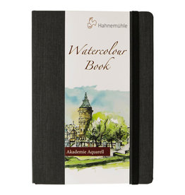 Hahnemuhle Watercolour Book 200gsm Hardbound 8.19x5.77 Portrait, 30 sheets