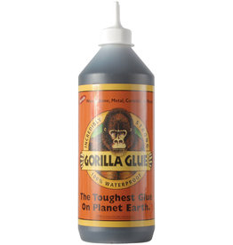 Gorilla Glue Gorilla Original Gorilla Glue, Waterproof Polyurethane Glue, 36 ounce Bottle, Brown